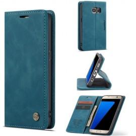 CaseMe Book Case Samsung Galaxy S7 Hoesje - Blauw