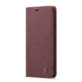 CaseMe Book Case Samsung Galaxy S7 Hoesje - Bordeaux