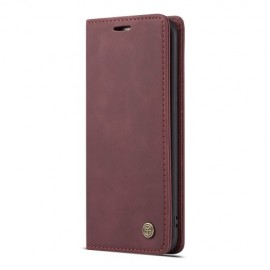 CaseMe Book Case Samsung Galaxy S7 edge Hoesje - Bordeaux
