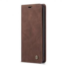 CaseMe Book Case Samsung Galaxy S7 edge Hoesje - Donkerbruin