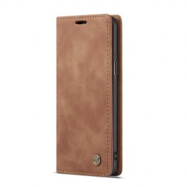 CaseMe Book Case Samsung Galaxy S9 Hoesje - Bruin