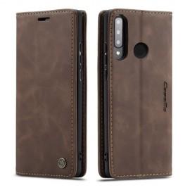 CaseMe Book Case Huawei P30 Lite Hoesje - Donkerbruin