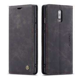 CaseMe Book Case OnePlus 7 Hoesje - Zwart