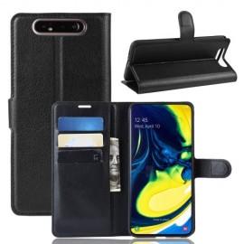 Book Case Samsung Galaxy A80 Hoesje - Zwart