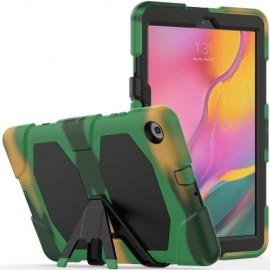 Heavy Duty Case Samsung Galaxy Tab A 10.1 (2019) Hoesje - Camouflage