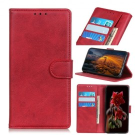 Luxe Book Case Nokia 1 Plus Hoesje - Rood