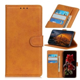Luxe Book Case Nokia 1 Plus Hoesje - Bruin