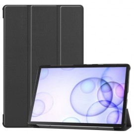 Smart Book Case Samsung Galaxy Tab S6 Hoesje - Zwart