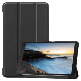 Tri-Fold Book Case Samsung Galaxy Tab A 8.0 (2019) Hoesje - Zwart