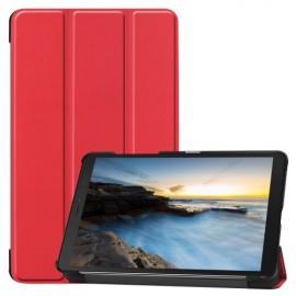 Tri-Fold Book Case Samsung Galaxy Tab A 8.0 (2019) Hoesje - Rood