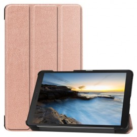 Tri-Fold Book Case Samsung Galaxy Tab A 8.0 (2019) Hoesje - Rose Gold