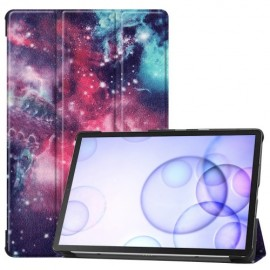 Smart Book Case Samsung Galaxy Tab S6 Hoesje - Galaxy