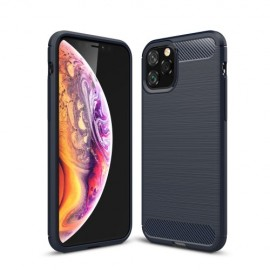 Armor Brushed TPU iPhone 11 Pro Hoesje - Blauw