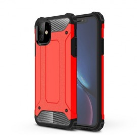 Armor Hybrid iPhone 11 Hoesje - Rood