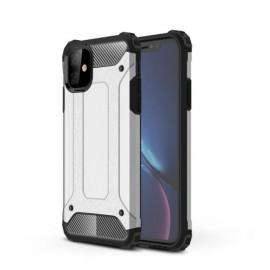 Armor Hybrid iPhone 11 Hoesje - Zilver