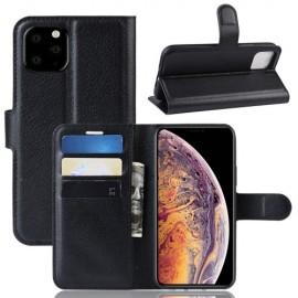 Book Case iPhone 11 Pro Max Hoesje - Zwart