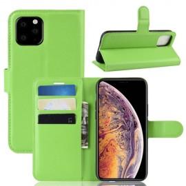Book Case iPhone 11 Pro Max Hoesje - Groen