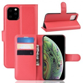 Book Case iPhone 11 Pro Hoesje - Rood