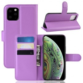 Book Case iPhone 11 Pro Hoesje - Paars