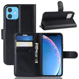 Book Case iPhone 11 Hoesje - Zwart