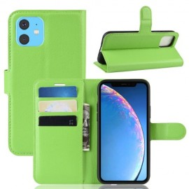 Book Case iPhone 11 Hoesje - Groen