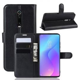 Book Case Xiaomi Mi 9T (Pro) Hoesje - Zwart