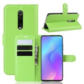 Book Case Xiaomi Mi 9T (Pro) Hoesje - Groen