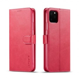 Luxe Book Case iPhone 11 Pro Hoesje - Roze