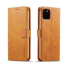 Luxe Book Case iPhone 11 Pro Hoesje - Bruin