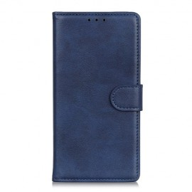 Luxe Book Case Motorola One Zoom Hoesje - Blauw