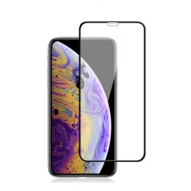 Full-Cover Tempered Glass iPhone 11 Pro Max - Zwart