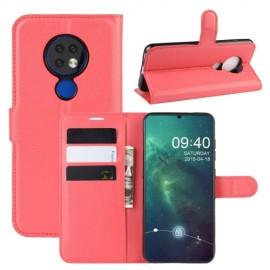 Book Case Nokia 6.2 / 7.2 Hoesje - Rood