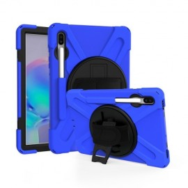 Heavy Duty Case Samsung Galaxy Tab S6 Hoesje - Blauw