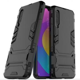 Armor Kickstand Xiaomi Mi 9 Lite Hoesje - Zwart