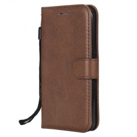 Book Case iPhone 5 / 5S / SE Hoesje - Bruin