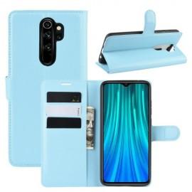 Book Case Xiaomi Redmi Note 8 Pro Hoesje - Lichtblauw