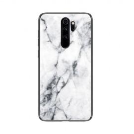 Marble Glass Cover Xiaomi Redmi Note 8 Pro Hoesje