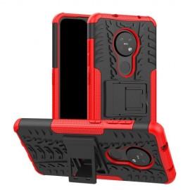 Rugged Kickstand Nokia 6.2 / 7.2 Hoesje - Rood