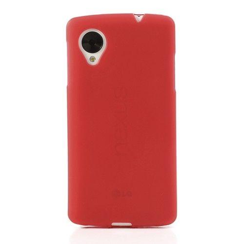 TPU Cover LG Google Nexus 5 - Rood