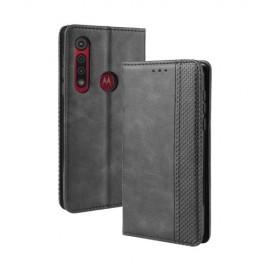 Book Case Motorola Moto G8 Plus Hoesje - Zwart