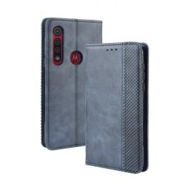 Book Case Motorola Moto G8 Plus Hoesje - Blauw