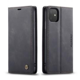 CaseMe Book Case iPhone 11 Hoesje - Zwart