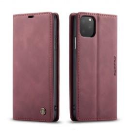 CaseMe Book Case iPhone 11 Pro Max Hoesje - Bordeaux