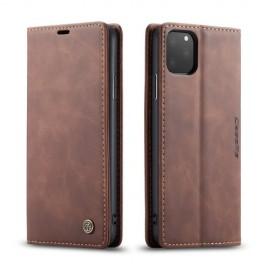 CaseMe Book Case iPhone 11 Pro Max Hoesje - Donkerbruin