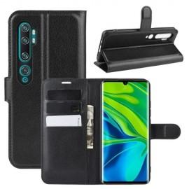 Book Case Xiaomi Mi Note 10 Hoesje - Zwart