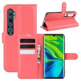 Book Case Xiaomi Mi Note 10 Hoesje - Rood