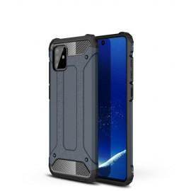 Armor Hybrid Samsung Galaxy Note 10 Lite Hoesje - Donkerblauw