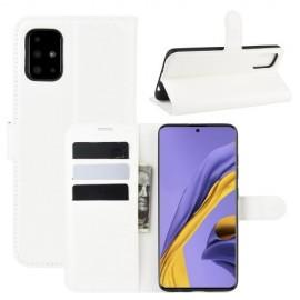 Book Case Samsung Galaxy A51 Hoesje - Wit
