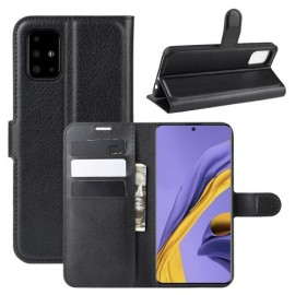 Book Case Samsung Galaxy A51 Hoesje - Zwart