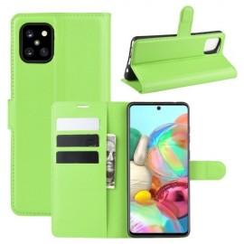 Book Case Samsung Galaxy Note 10 Lite Hoesje - Groen